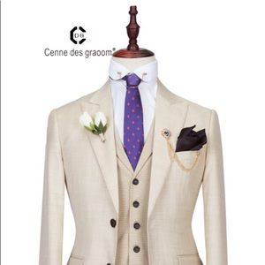 Cenne Des Graoom Men's Suit